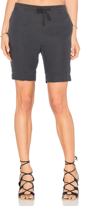 James Perse Pull On Trouser Short $175 thestylecure.com
