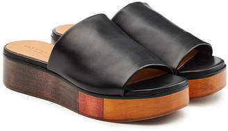 Robert Clergerie Quena Leather Slip-Ons