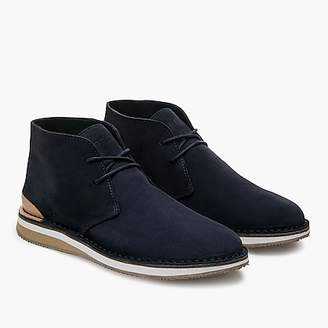 J.Crew GREATS® Hirsh chukka boots in cadet navy suede