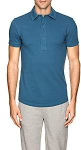 Orlebar Brown MEN'S SEBASTIAN COTTON PIQUÉ POLO SHIRT-BLUE SIZE XS