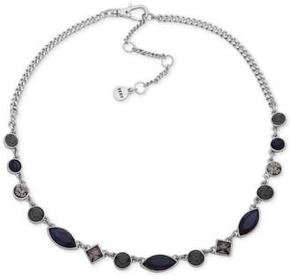 "DKNY Crystal Collar Necklace, 16"" + 3"" extender"