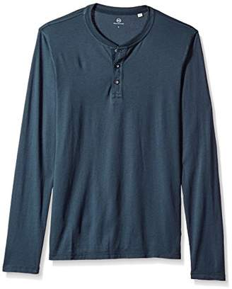 AG Adriano Goldschmied Men's Clyde Long Sleeve Henley