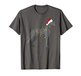 Christmas Lights Great Dane Dog T-Shirt