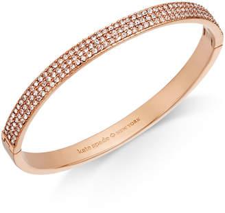 Kate Spade Gold-Tone Pave Bangle Bracelet