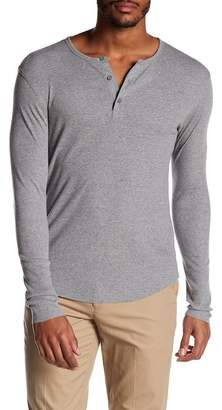 Vince Rib Long Sleeve Henley