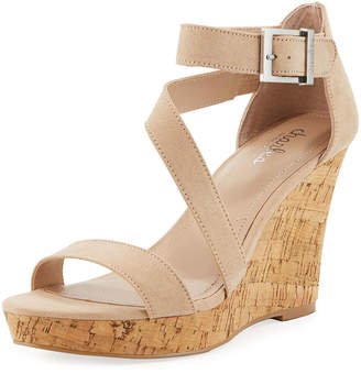 Charles by Charles David Leanna Ankle-Strap Wedge Sandals