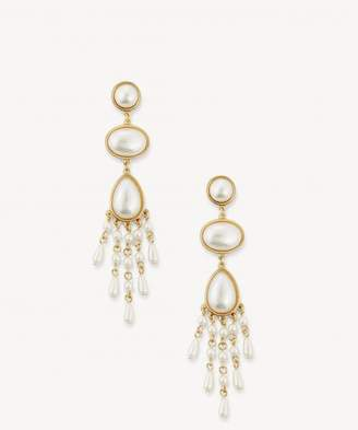 Sole Society Womens Pearl Drop Earrings Gold One Size From Sole Society xhco6i