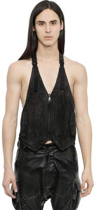Alexandre Plokhov Horse Leather Vest