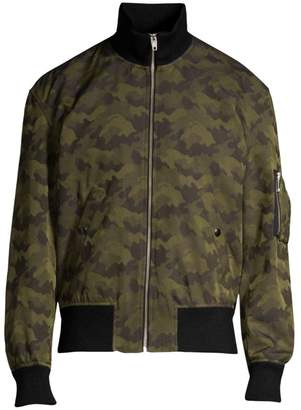 The Kooples Zip-Up Bomber Jacket