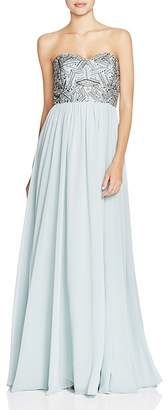 Decode 1.8 Embellished Bodice Gown