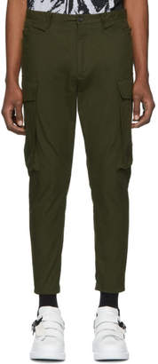 DSQUARED2 Green Ripstop Sexy Cargo Pants