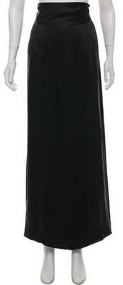 Alberta Ferretti Silk Maxi Skirt