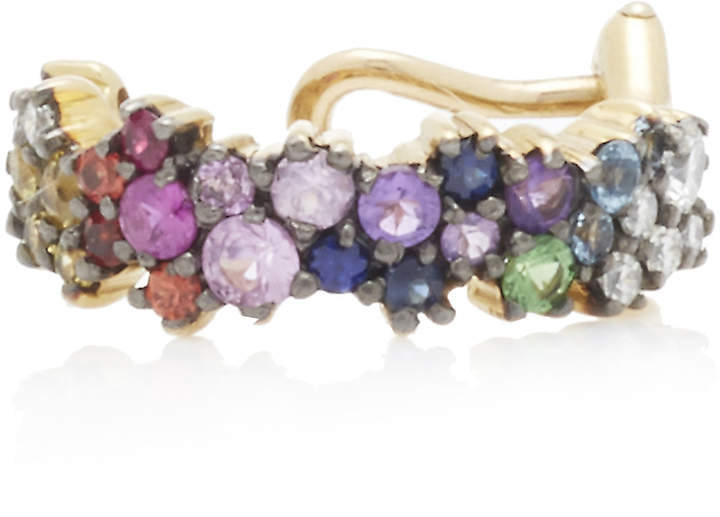 Ana Khouri Single Multicolor Mirian Ear Cuff