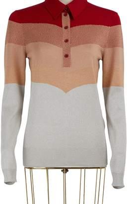 Bottega Veneta Lurex long sleeved polo