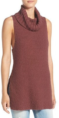 Billabong Sleeveless Knit Cowl Neck Tunic $59.95 thestylecure.com