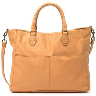 AMERICAN LEATHER CO. Kelly Convertible Leather Tote