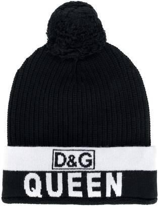 Dolce & Gabbana Queen bobble hat