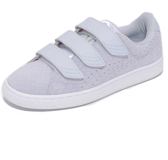 PUMA Basket Strap Sneakers $90 thestylecure.com