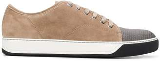 Lanvin capped toe sneakers