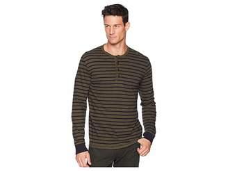 Lucky Brand Stripe Henley Shirt