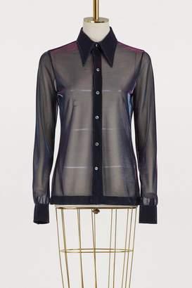 Maison Margiela Transparent shirt