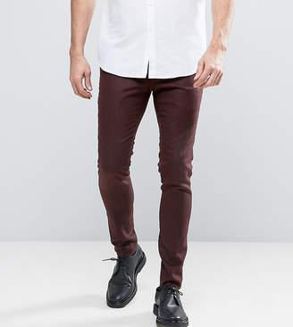 Noak Super Skinny Smart Pant In Rust