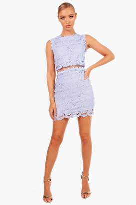 boohoo Boutique Laura Mesh Panel Bodycon Dress
