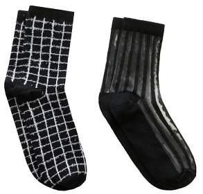 MANGO 2 pack mixed socks