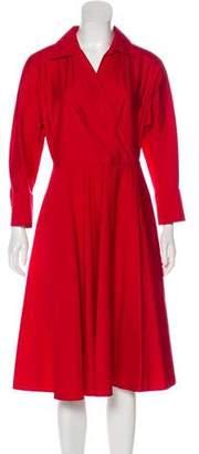 Max Mara A-Line Midi Dress w/ Tags