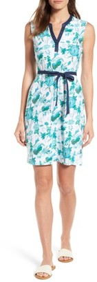 Women's Tommy Bahama Naxos Blooms Short Jersey Dress $98 thestylecure.com