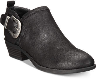 White Mountain Davenport Western Ankle Booties Women's Shoes
