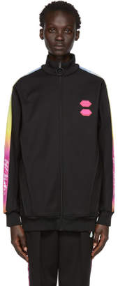 Off-White Black Logo Tape Track Jacket