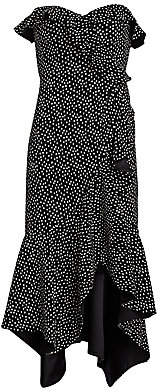 Jonathan Simkhai Women's Speckle Asymmetric Mermaid Dress - Size 0