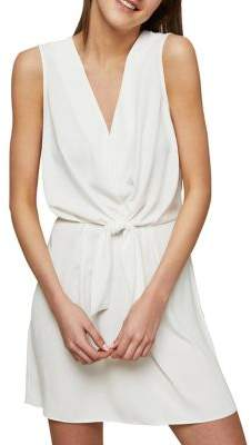 Miss Selfridge Knotted Front Dress