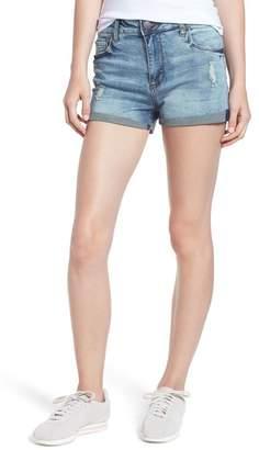 STS Blue Swat Fame Distressed High Waist Denim Shorts (Rivindel)