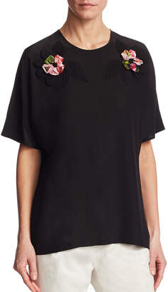 Dolce & Gabbana Floral Embroidery Blouse