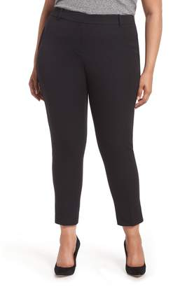 1 STATE 1.STATE Stretch Cotton Blend Twill Ankle Pants
