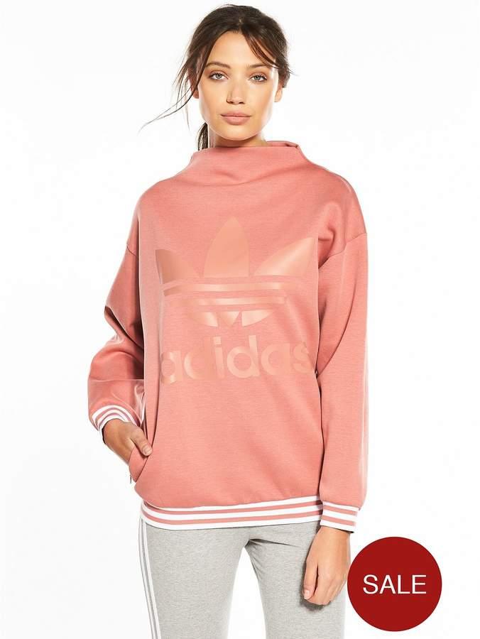 High Neck Sweater - Pink