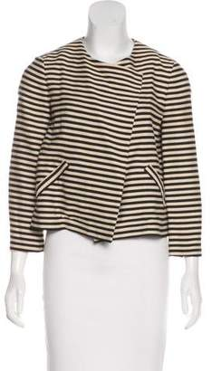 Elizabeth and James Casual Striped Jacket