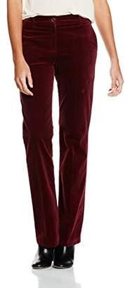 Brax Women's Milva Trousers, Red-Rot (Maroon 80), W32/L32