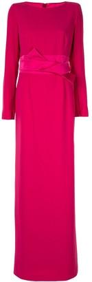 Paule Ka maxi dress with bow detail