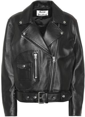 Acne Studios New Merlyn leather jacket