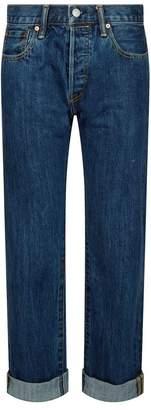 Burberry Check Trim Jeans