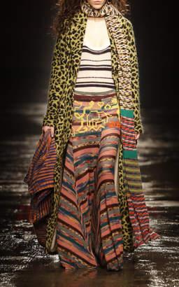 Missoni Leopard Print Long Coat