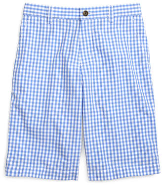 Brooks Brothers Boys Gingham Shorts