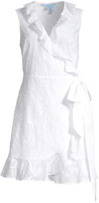 Draper James Ruffle Wrap Cotton Dress