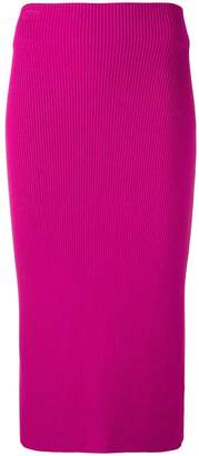 Calvin Klein ribbed knit skirt