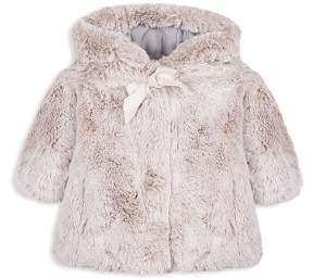 Tartine et Chocolat Girls' Faux-Fur Coat - Baby