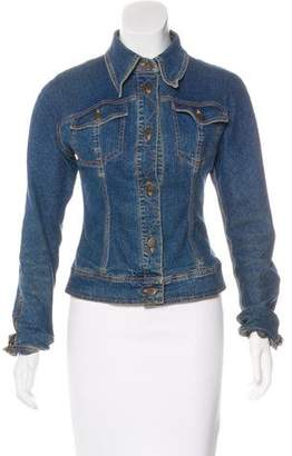 Dolce & Gabbana Collared Jean Jacket