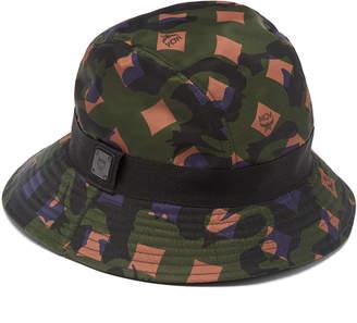 e05f8f62780c9 ... best free ground shipping at mcm worldwide mcm nylon bucket hat in  munich lion camo f1ce9